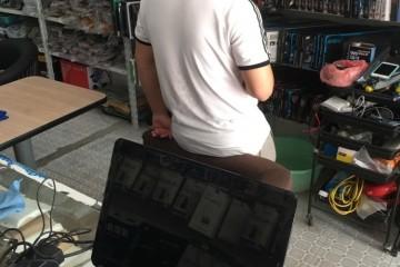 朋友电脑店灾祸降临客人丢下蓝屏画面电脑就走怎样解说