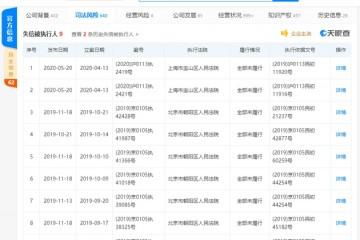 王思聪旗下上海熊猫互娱文明有限公司再成失期被执行人