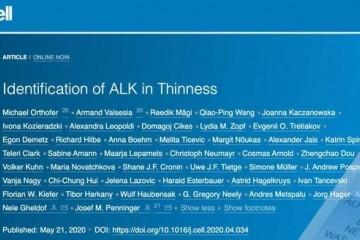《细胞》癌基因ALK竟是胖瘦的开关