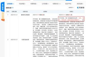 特斯拉(上海)经营范围新增发电输电供电事务