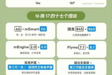 魅族 16 系列换新计划升级,苹果、一加、小米也可享受换新优惠!